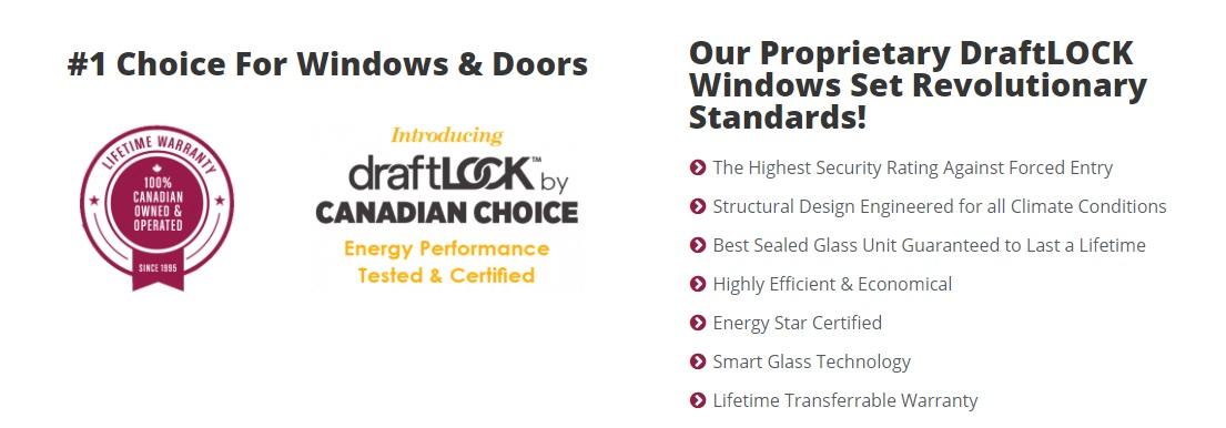 draftlock technologies window